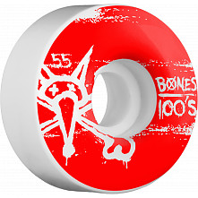 BONES WHEELS 100's 55mm (4pack)