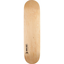 Mini Logo Small Bomb Deck 124 Natural - 7.5 x 31.375