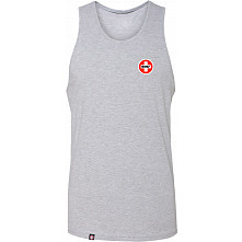 Bones Bearings Swiss Logo Tank Top Heather Gray