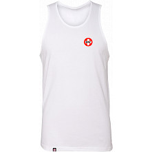 Bones Bearings Swiss Logo Tank Top White