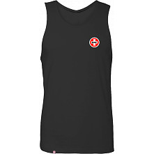 Bones Bearings Swiss Logo Tank Top Black