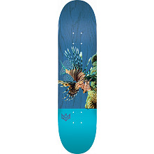 "MINI LOGO POISON ""16"" SKATEBOARD DECK 255 K20 LION FISH - 7.5 X 30.70"