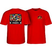 Powell Peralta Bucky Lasek Stadium T-Shirt Red