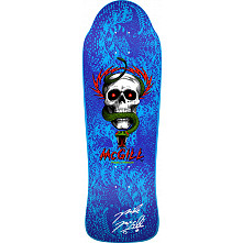 Bones Brigade McGill Blem Skateboard Deck Blue - Signed by Mike