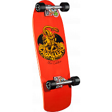 Bones Brigade Orange Caballero Skateboard Complete Assembly - 10 x 29.130