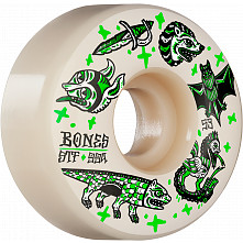 BONES WHEELS STF Skateboard Wheels Dark Knights 53mm V1 Standard 99a 4pk