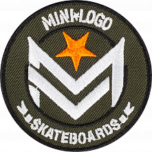 Mini Logo Chevron Patch Single