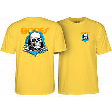 Powell Peralta Ripper T-shirt Yellow