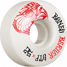 BONES WHEELS PRO STF Skateboard Wheels Berger Falcon 52mm V3 Slims 103A 4pk