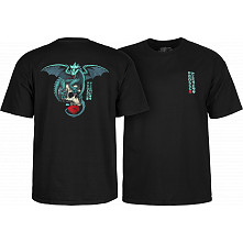 Powell Peralta T-shirt Dragon Skull Black