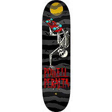 Powell Peralta Handplant Skelly Skateboard Blem Deck Charcoal - 8 x 31.45