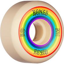 BONES WHEELS PRO STF Skateboard Wheels Reyes Portal 54mm V6 Wide-Cut 99a 4pk