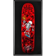 Bones Brigade® Shadowbox Mullen Chess Skateboard Deck Red - Signed by Rodney