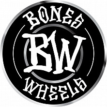 "BONES WHEELS Branded 4"" Sticker 20 pack"
