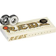 Bones® Ceramic Super REDS® Skateboard Bearings 8 pack