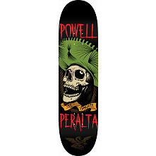 Powell Peralta Te Chingaste Blem Skateboard Deck Green - Shape 248 - 8.25 x 31.95