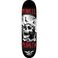 Powell Peralta Te Chingaste Skateboard Blem Deck White - 8.5 x 32.08