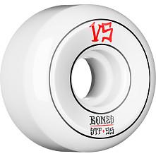BONES WHEELS STF Annuals Skateboard Wheels Sidecuts 55mm 4pk White