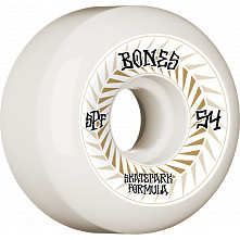 BONES WHEELS SPF Skateboard Wheels Spines 54mm P5 Sidecut 81B 4pk White