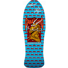 Bones Brigade Caballero Lt. Blue Deck Autographed by GAP/Stacy