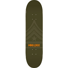 Mini Logo Quartermaster Deck 191 Green - 7.5 x 28.65