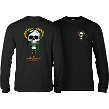 Powell Peralta Skull & Snake L/S Shirt Black