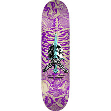 Powell Peralta Skull and Sword Skateboard Deck Purple 246 K21 - 9.05 x 32.95