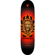 Powell Peralta Flight Salman Agah Lion Skateboard Deck - 8 x 31.45