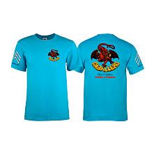Bones Brigade® Caballero Dragon T-shirt - Turquoise