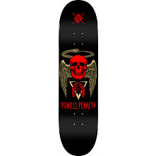 Powell Peralta Halo Snake Skateboard Deck Black - Shape 243 - 8.25 x 31.95