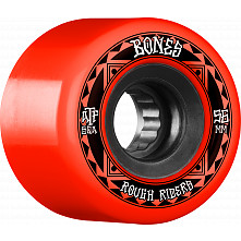 BONES WHEELS ATF Rough Rider Skateboard Wheels Runners 56mm 80a 4pk Red