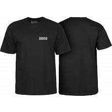 BONES WHEELS T-Shirt Home School'd Black