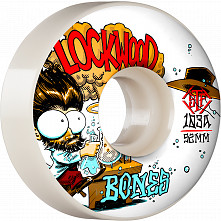 BONES WHEELS PRO STF Skateboard Wheels Lockwood Experi-Mental 52mm V3 Slims 103A 4pk