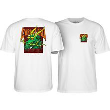 Powell Peralta Steve Caballero Street Dragon T-shirt White