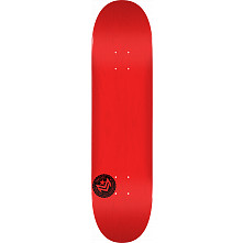 "MINI LOGO CHEVRON STAMP ""12"" SKATEBOARD DECK 170 RED - 8.25 X 32.5"