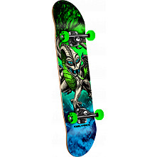 Powell Peralta Cab Dragon Storm Complete Skateboard Green/Blue - 7.5 x 28.65