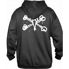 BONES WHEELS Back It Hoodie Black