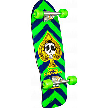 Powell Peralta Steadham Green/Navy Complete - 10 x 30.125