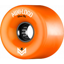 Mini Logo A.W.O.L. Skateboard Wheels A-cut Orange 59mm 78A 4pk