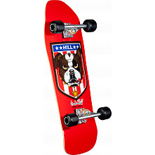 Powell Peralta Hill Bulldog Custom Complete Skateboard Red - 10 x 31.5