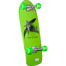 Bones Brigade® Mike McGill Green Jet Fighter Complete Skateboard - 10.28 x 30.25