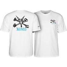 Powell Peralta Rat Bones T-shirt - White