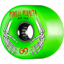 Powell Peralta ATF 69mm 78A Wheel Green