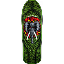 Powell Peralta Vallely Elephant Blem Skateboard Deck Green 163 SP3