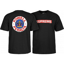 Powell Peralta Supreme T-shirt - Black