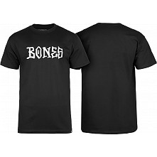 BONES WHEELS BW Frontal T-shirt Black