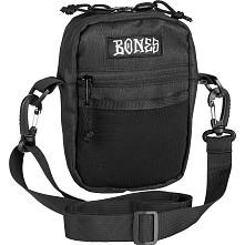"""BONES WHEELS Shoulder Bag Black 6' x 5"""""""