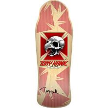 Bones Brigade Hawk Blem Skateboard Deck Natural - Signed by Tony