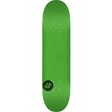 "MINI LOGO CHEVRON STAMP ""12"" SKATEBOARD DECK 124 GREEN - 7.5 X 31.375"