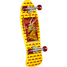 Powell Peralta Cab Dragon and Bats Yellow Complete -